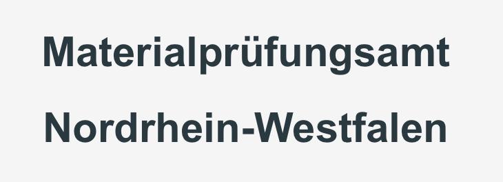 Materialprüfungsamt NRW